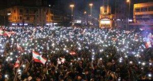 أجمل مشاهد للثورة في بيروت