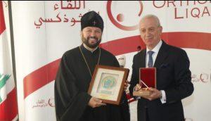 """ابوفاضل: """" نتقدم بعميق الشكر من كنيسة موسكو و سائر الروسيا التي هبت لمساعدة بيروت المنكوبة"""""""