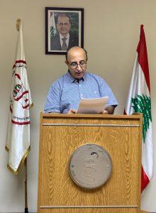 النقيب وليد جابر يرد على تهنئة رئيس النقابة الوطنية لمرممي الأسنان في المغرب