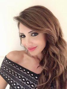 اليانا مبارك من الكوكبة اللبنانية التي أثارت بعلمها وفنها الكثير